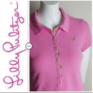 Lilly Pulitzer Polo t-shirt  - Size Small